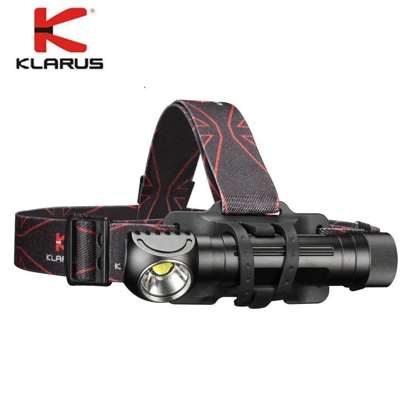 KLARUS HA2C USB Rechargeable Headlight CREE XHP70.2 Max Light Headlamp With 3100mah 18650 Battery