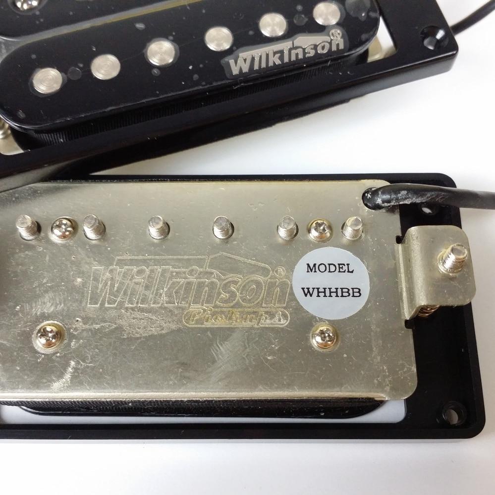 medium resolution of new wilkinson electric guitar humbucker pickups whhb neck bridge alnico 5 magnet copper nickel base made in korea in guitar parts accessories from