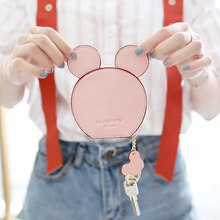 New Fashion Design Mickey Head Wallets For Girls