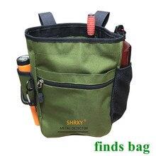 Metal dedektörü kılıf çanta kazıcı kaynağı hazine bel paketi iyi şanslar bulur çanta bahçe tespit araçları kürek ProFind çantası