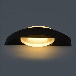 Image 4 - Feimefeiyou Lámpara LED de pared, AC85 265V, luces modernas simples para dormitorio, comedor interior del pasillo de Iluminación, Material de aluminio