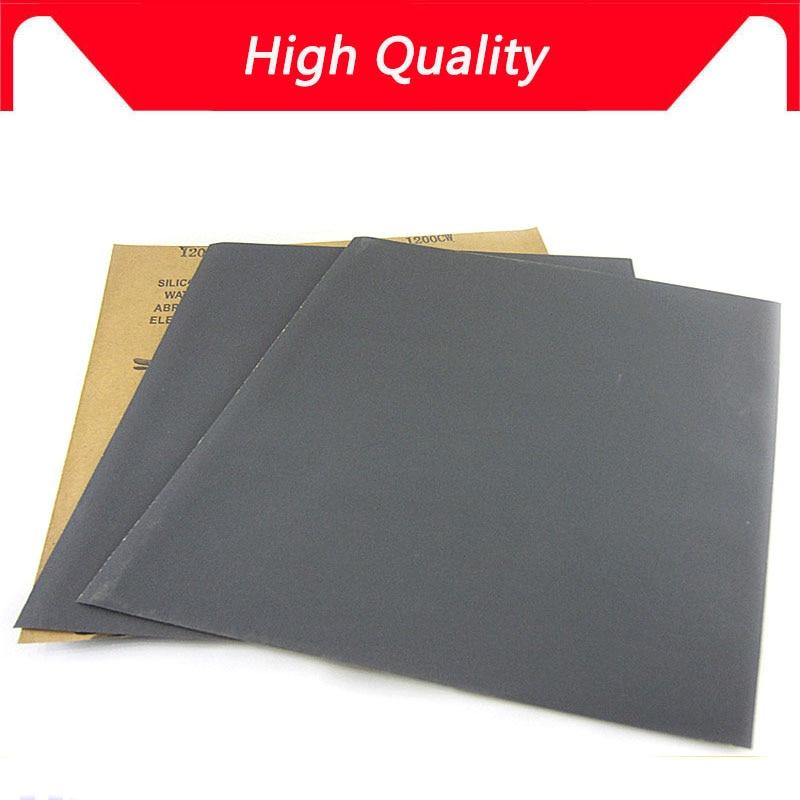 NEW 500pcs Superfine Sandpaper Brushed Water Sanding Paper Polishing Grinding Tools Grit 60 80 120 240 1000 2000 Abrasive Paper