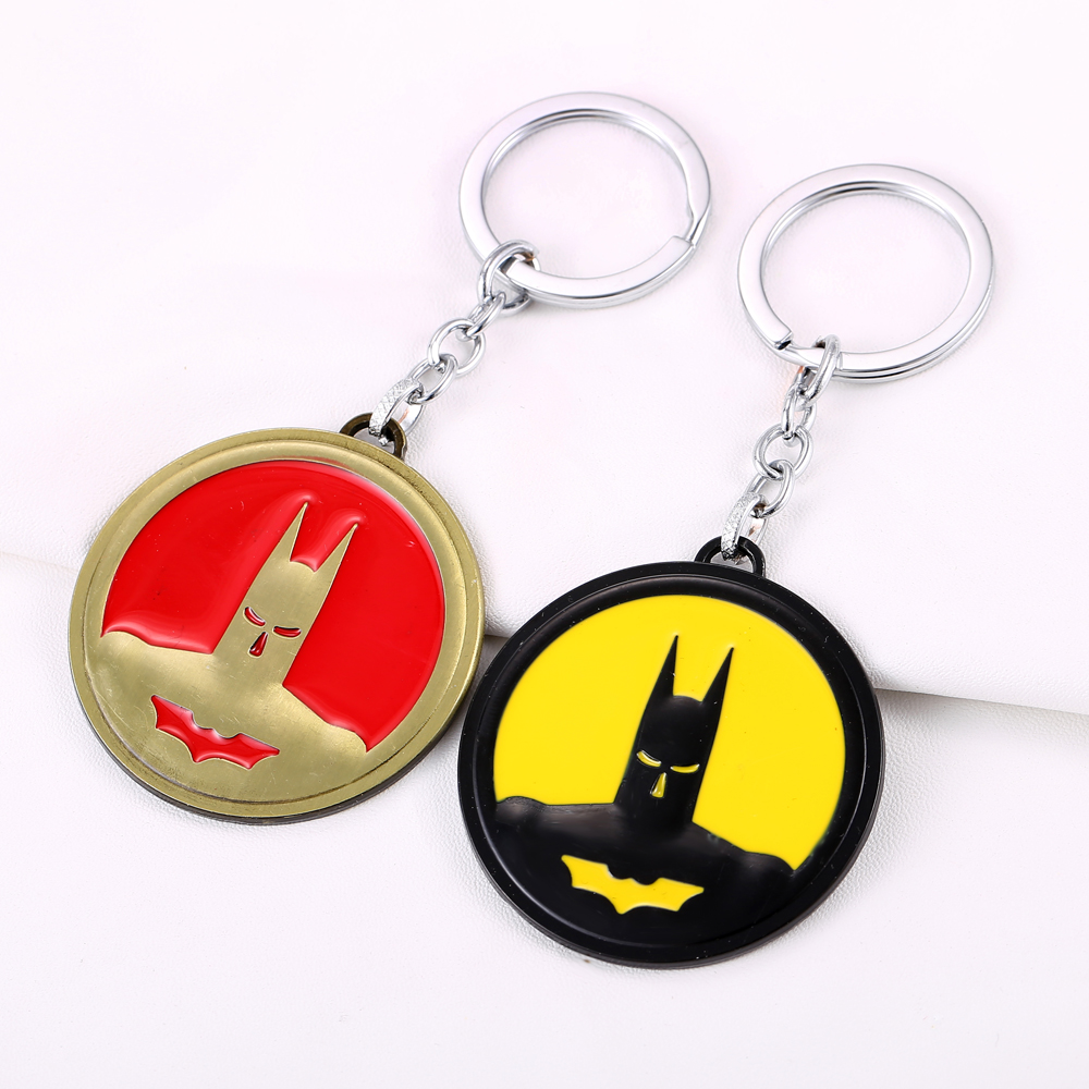 MS JEWELS Keychains Superhero Batman Keychain Metal Key Rings For Gift Chaveiro Key Chain Jewelry