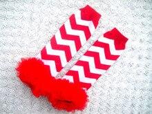 newest Baby Leg Warmers boy's girls' Legging Tights red Socks infant toddler ruffle Arm warmers legwarmers droppshipping