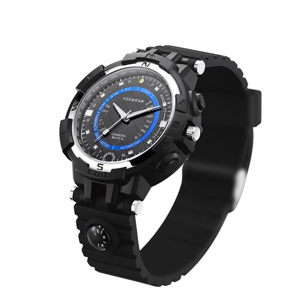 FOX8 Smart Watch Wireless Mini P2P WiFi IP Camera Watch Mini DV DVR Convenient Practical Watch Car Bicycle Video Recorder