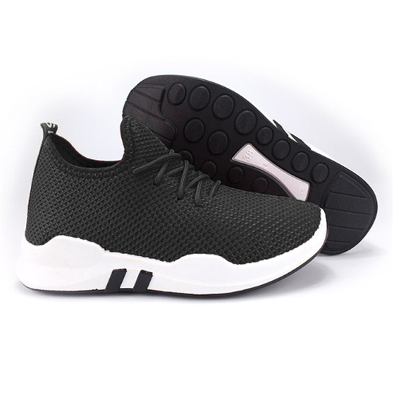 MENS SPORTS RUNNING TRAINERS WOMENS GYM FITNESS CASUAL LACE UP PUMPS SHOE SIZE