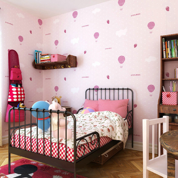 Papel de parede rosa deja tela no tejida pared papel papel pintado para cocina wallpaers papel.jpg