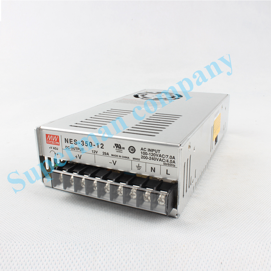 Original power suply unit ac to dc power supply NES-350-12 350W 12V 29A MEANWELL meanwell 12v 50w ul certificated nes series switching power supply 85 264v ac to 12v dc