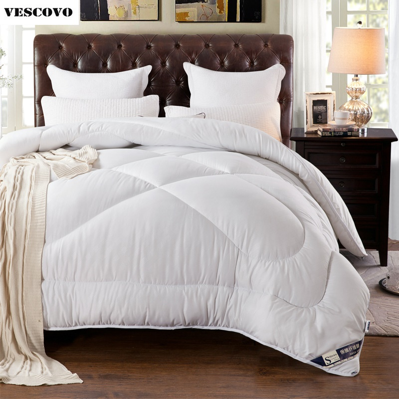 Top Quality 100 cotton Winter Quilt Comforter Duvet Cover Twin Double Queen King Free Fast Shipping