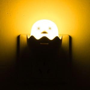 Image 4 - Canard oeuf nuit lampe prise murale sans fil télécommande LED veilleuse chambre lampe pour enfants enfant cadeau lumière douce blanc chaud