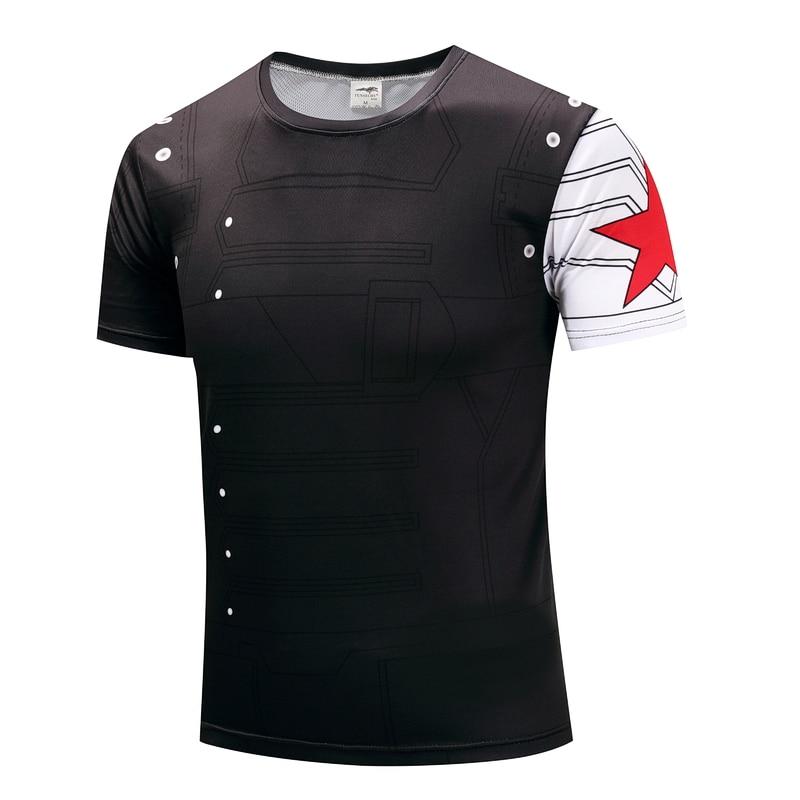 Captain America union winter soldier hulk ideas multi-model older men leisure short sleeve T-shirt