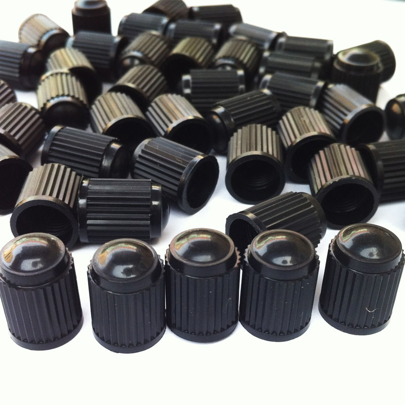 100Pcs/Lot Tubeless Tyre Wheel Stem Air Valve Caps Car Tire Valve Caps Auto Truck Bike MTB Dust Dustproof Caps