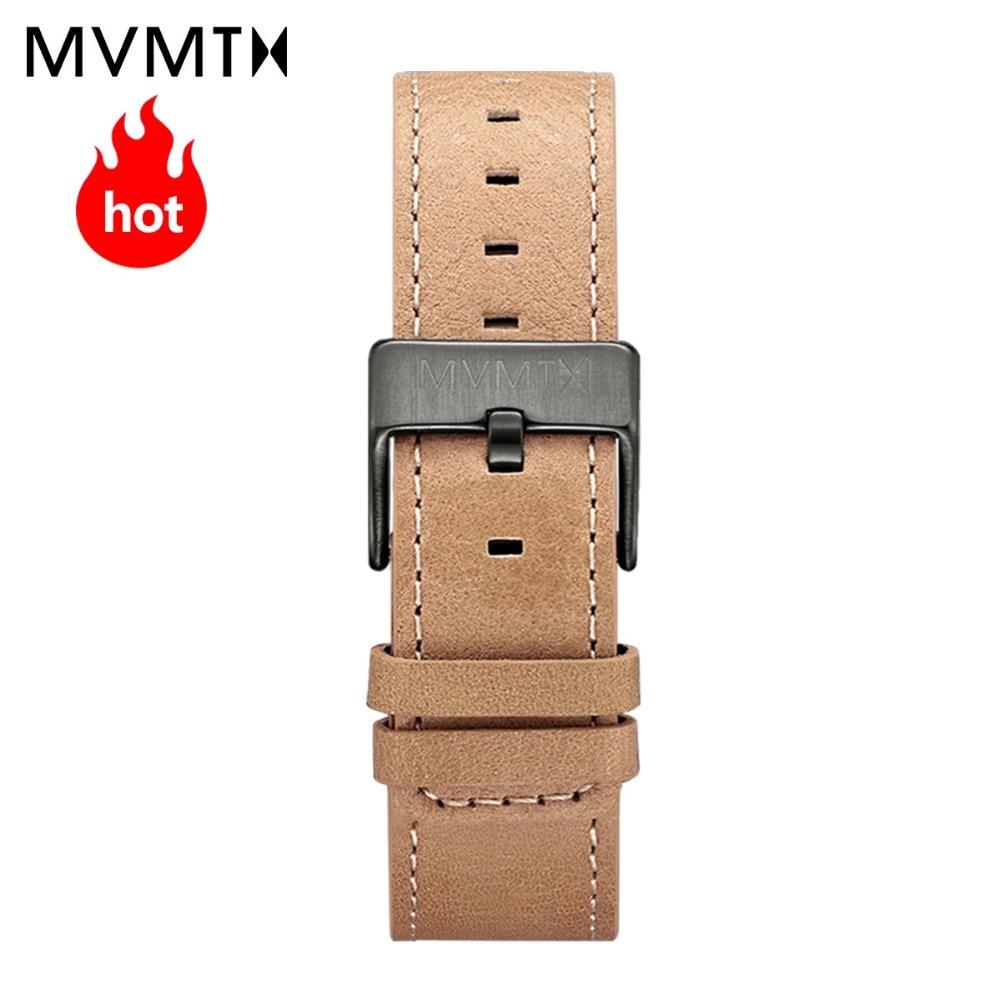 MVMT Italian calf leather strap fashion trend Korean version 40mmdw universal strap все цены