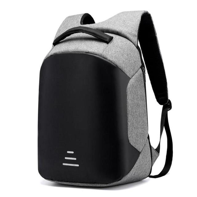 58d3743b5 2019 USB Charging Business Backpacks Men Anti-Theft Waterproof Laptop  Schoolbags Male Backpack Large Capacity 15.6 Inch