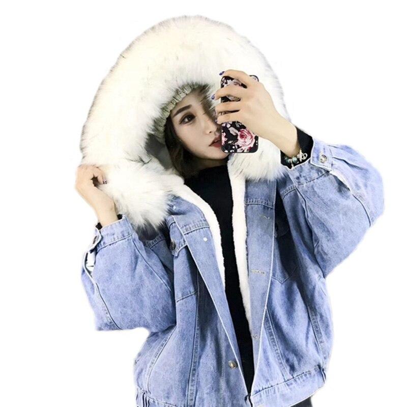 Taille Fur Femmes Pour Chaquetas Épais En De Fur Plus Fourrure Mujer Hiver pink Casual Poitrine Lâche D'hiver Veste Fur white Manteau La Jean Gary Unique nAvp4qx