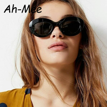 Fashion Oval Cat Eye Sunglasses Women's Brand Designer Vintage Cateye Sun Glasse