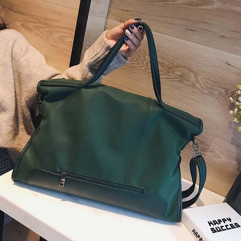 Designer Vintage Matte Leather Handbags Large Messenger Bags Casual Shoulder Tote Bag