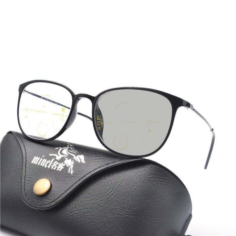2c3ee9947c13 TR90 Progressive Multifocal glasses Transition Sunglasses Photochromic  Reading Glasses Men Points for Reader Near Far sight