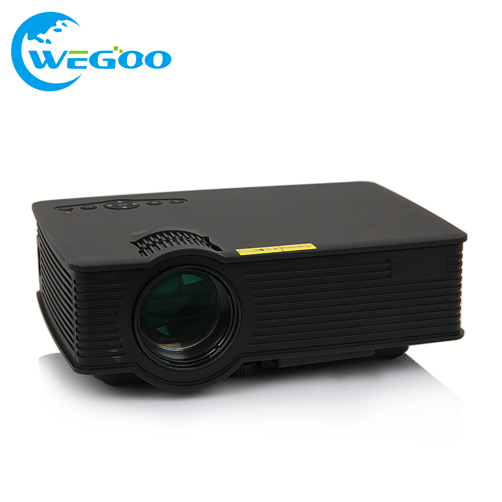 GP-9 Projector TFT LCD display 1000 Lumens Full HD 1080P Portable Cinema Home Theater LCD Video Mini Projector Beamer Proyectors