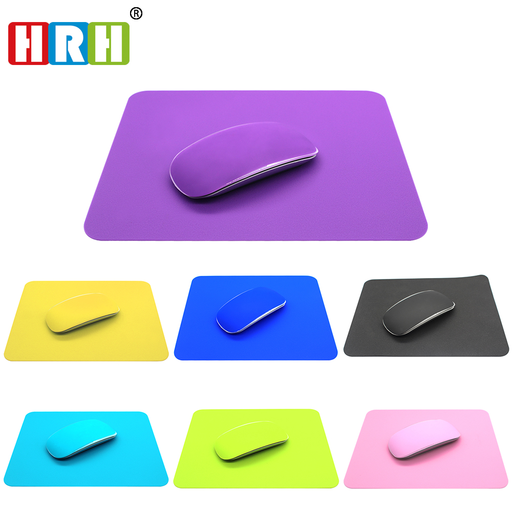 HRH 2in1 Candy Silicone Mouse Skin Mouse Cover Pad Desk Mat to Mouse Gamer For Apple Macbook Optical Laser Mouse Protector film 2018 new samdi wood mouse pad with pen slot luxury computer mouse pads birch walnut mouse mat for apple mouse apple pen pencil