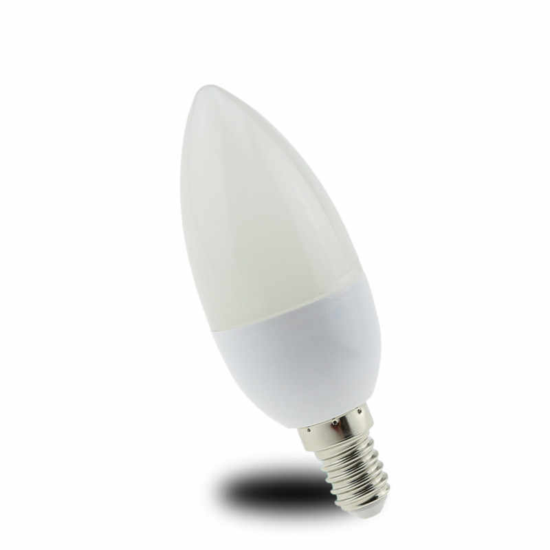 10X Led Candle Bulb E14 5W 7W 9W 220V Save Energy spotlight Warm/cool white chandlier crystal Lamp Ampoule Bombillas Home Light