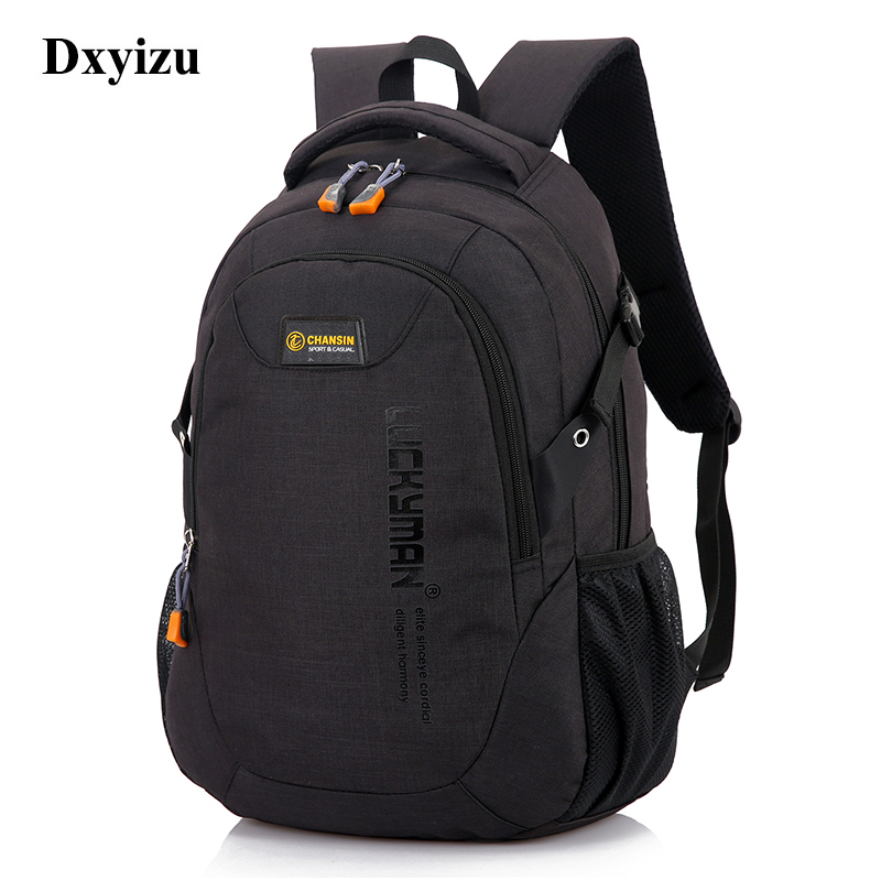 Unisex School Bag Waterproof Nylon Brand New Schoolbag Business Men Women Backpack Polyester Bag Shoulder Bags Computer Packsack #1