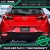 Free Shipping Tail Light Parking Warning Rear Bumper Reflector For Mazda CX 3 CX3 CX 3