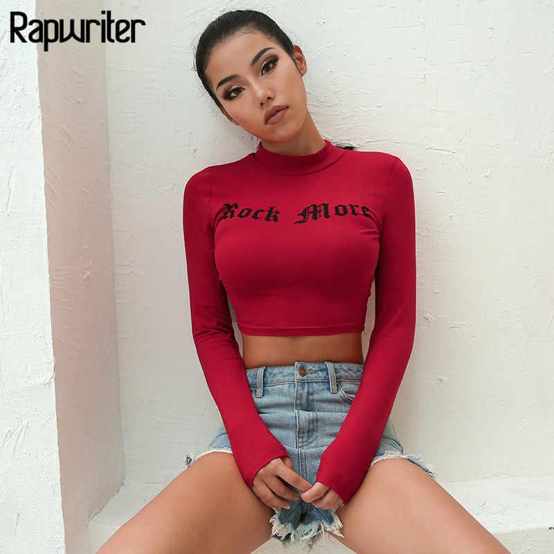 Woman Long Sleeve Crop T-shirt Colorfull Printed Ruffle O Neck Crop T-shirt S-L