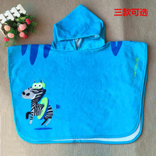 produtos de ba Friends Animal Charater Square Hooded Bath Towel Baby Product Cartoon Baby Robe 100% Cotton Infant Bath Towels