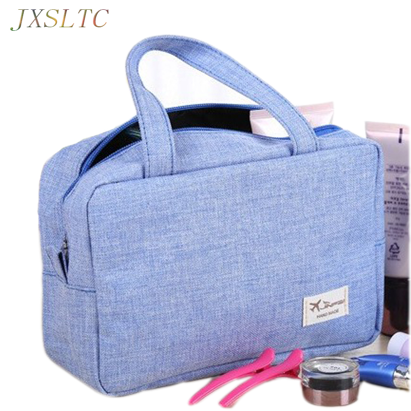 Women Bag Large-capacity Clothing Tourism Luggage Organizer Bursa Canvas Waterproof Makeup Cleaning Cover For Clothes Handbag