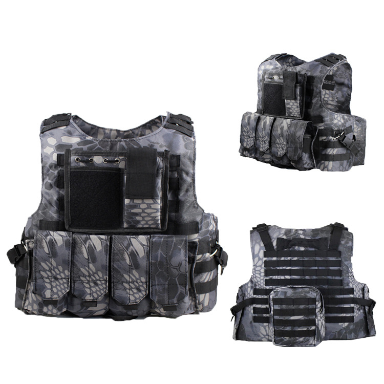 Python SWAT 4 Magazines Airsoft Tactical Vest Molle System Airsoft Paintball Gear