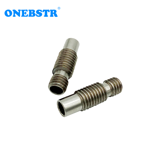 Special Offer 3D printer E3 DV6 Remote feed Throat  4.1mm All-metal hot end of the feed tube of stainless steel pipes