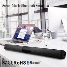 ELE ELEOPTION 20 Вт Беспроводная колонка Bluetooth Динамик ТВ Саундбар стерео домашний кинотеатр звуковая панель музыка стерео TF USB для ТВ ПК
