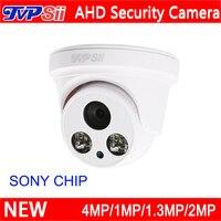 4 stks Een Zak Witte ABS Plastic Twee Array Leds CMOS 5MP/4MP/2MP/1.3MP/1MP Indoor Dome AHD CCTV Bewakingscamera's Gratis Verzending