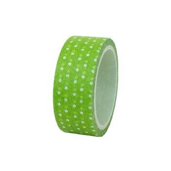 20ピース/セットスペシャルシーブルー波状緑ドット和紙テープ美化DIY装飾と紙和紙テープ1