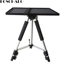 FOSOHALO Universal Portable Free Lifting Aluminum Alloy Projector Camrea Tripod Stand With Tray Camera Adjustable Tripods