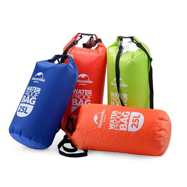 4colors 25L Muitifunctional Durable Ultralight Outdoor Travel Rafting Camping Hiking Swimming Waterproof Bag Dry Bag