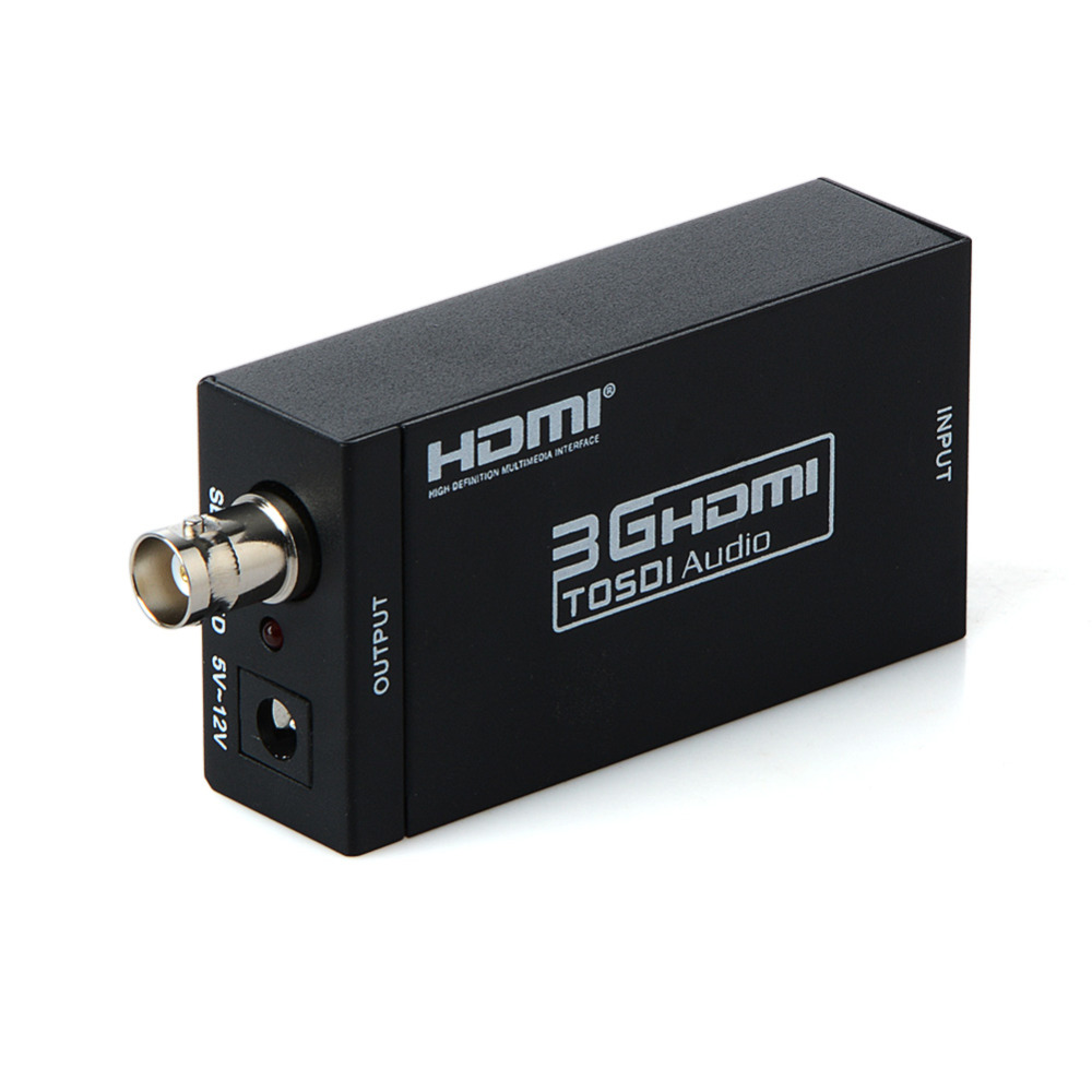 HDMI VERS SDI Converter Scaler Adaptateur 1080 p 1080I 720 p 576I 480 p MINI 3g Avec Coaxial Audio sortie pour Home Cinéma Cinéma PC HD