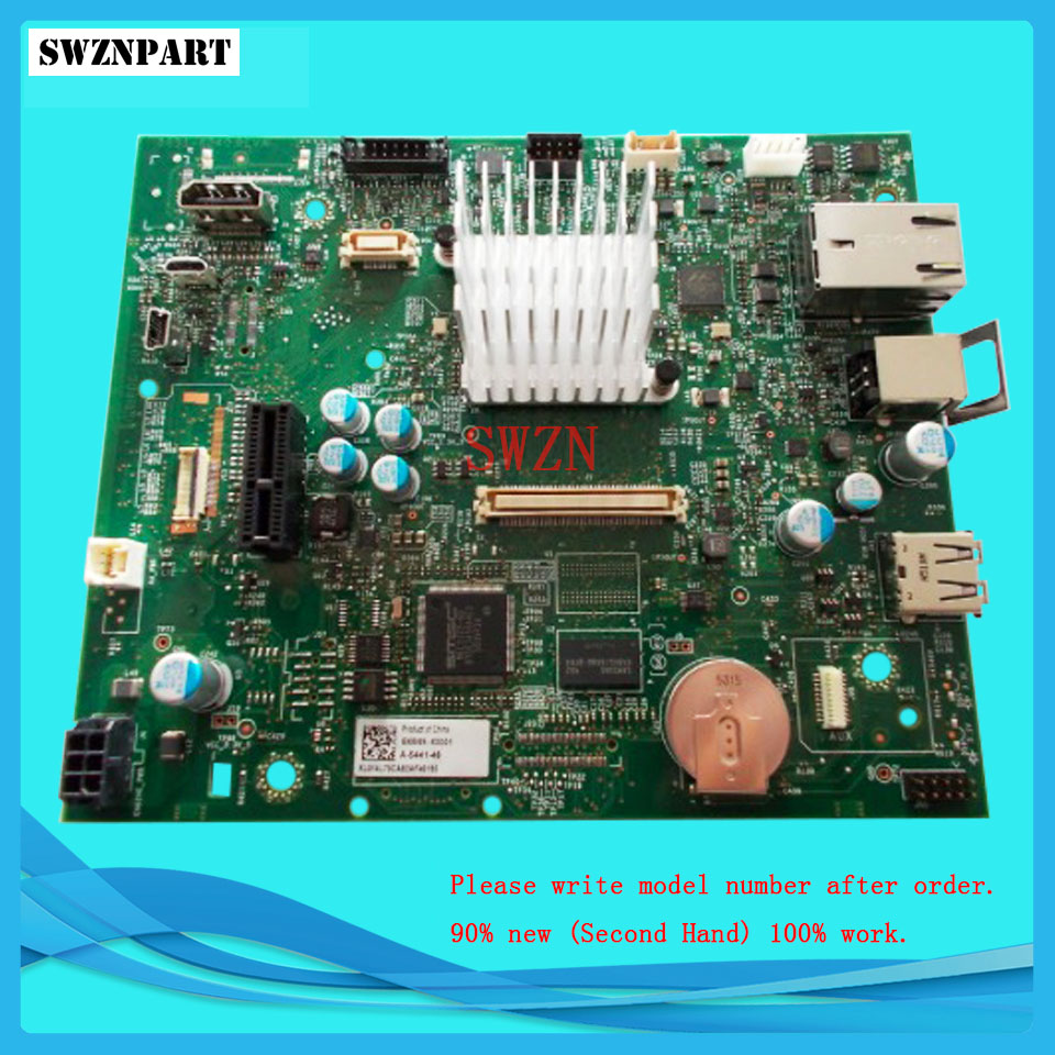 FORMATTER PCA ASSY Formatter Board logic Main Board MainBoard mother board for HP M604 M604dn M604n M605 M605dn M605n M605x цена