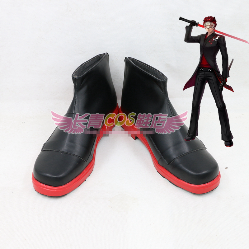 RWBY White Fang Adam Taurus Cosplay Shoes Halloween and Christmas Cos Shoes