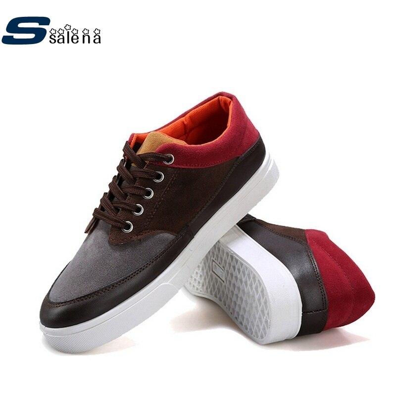 Prix pour Planche à roulettes Chaussures respirant suede hommes sneakers # B1348