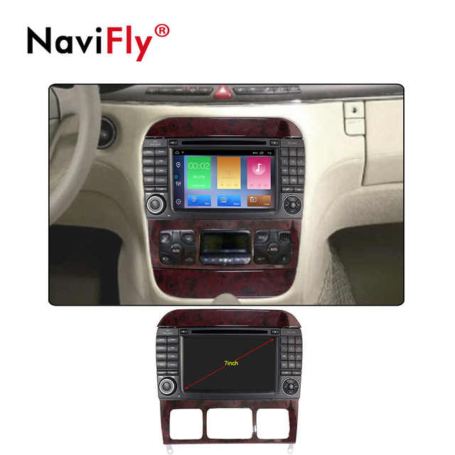 New! Android 9 1 Car dvd radio player GPS Navigation For Mercedes