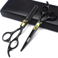 Professional new barbershop hair scissors 6 inch diamond flat hairdresser special haircut thinning shears