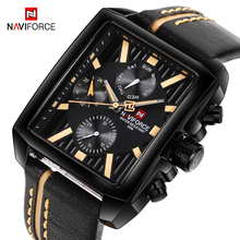 NAVIFORCE Watch Top Brand Luxury Mens Watches Fashion Army Military Sports Wrist Watch Men Quartz Analog Clock relogio masculino men watches top brand naviforce fashion sport watch analog waterproof quartz hour date clock male wrist watch relogio masculino