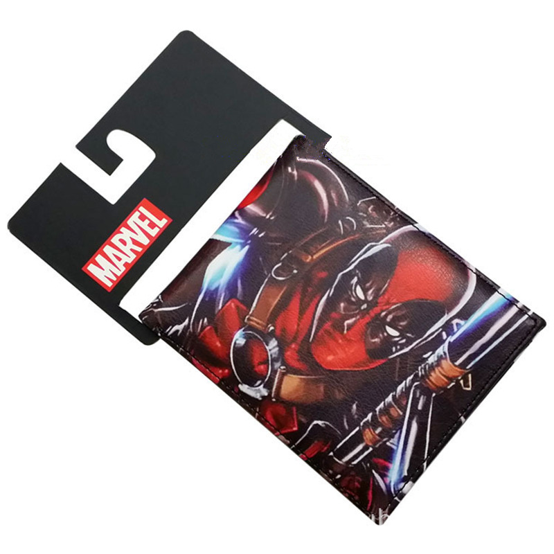 Die Shi Punisher Batman Superman Wallets Flash Pouch Deadpool Comics Pouch Captain America Purse Spider-Man Men Wallet Women Bag batman detective comics volume 9 gordon at war