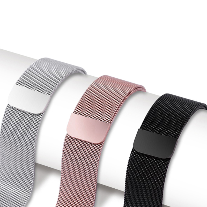 MULILAI Milanese Loop Stainless Steel Band For Apple Watch