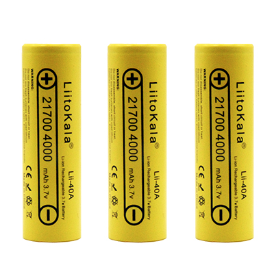 8 PCS Liitokala lii-40A 21700 li-lon <font><b>battery</b></font> <font><b>4000</b></font> <font><b>mAh</b></font> <font><b>3.7</b></font> <font><b>V</b></font> Power 15A Charge 5C Lithium <font><b>battery</b></font> ternary electric car <font><b>battery</b></font> image