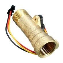 Новое поступление водонагреватель аксессуары электронный датчик расхода Электронный расходомер 1-30L/M для солнечного водонагревателя