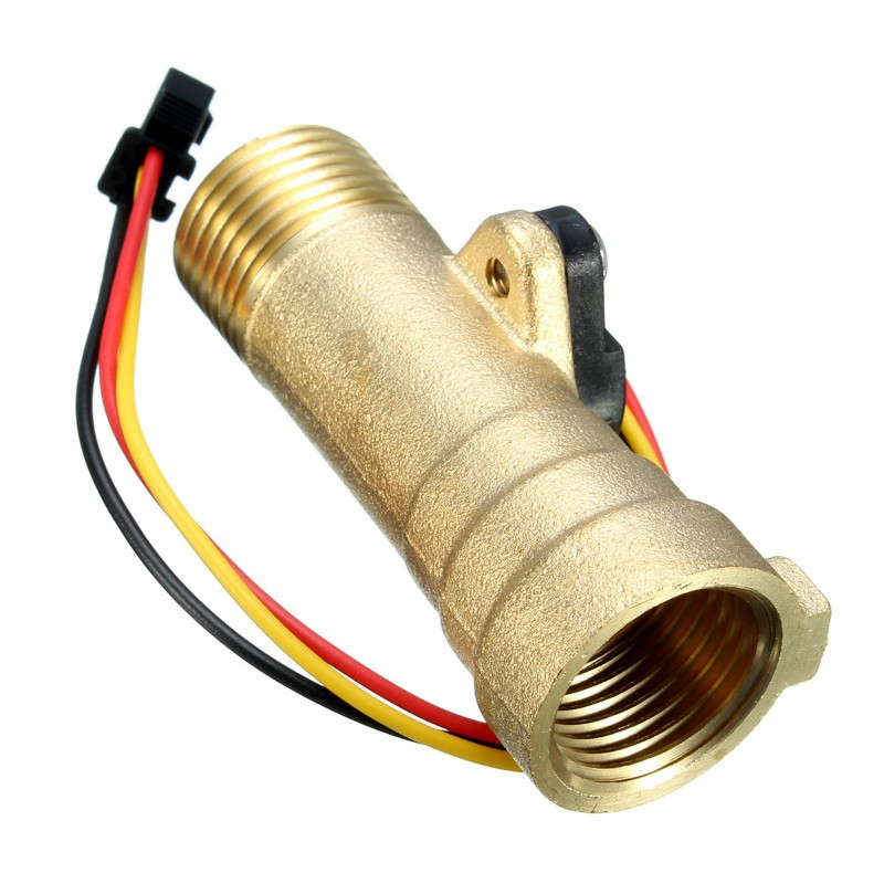 New Arrival Water Heater Accessories Electronic Flow Sensor Electronic Flow Meter 1-30L/M For Solar Water Heater