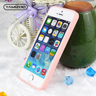 YAMIZOO Case Cover For iPhone 5 5s se Case Silicone Shockproof Soft Coque 360 Pink Cute Phone Cases For iPhone 5s se Case 5 On
